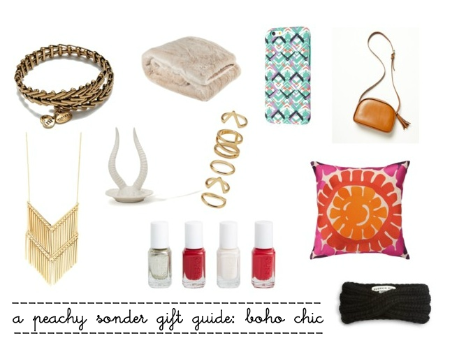gift guide, boho chic, Christmas gift