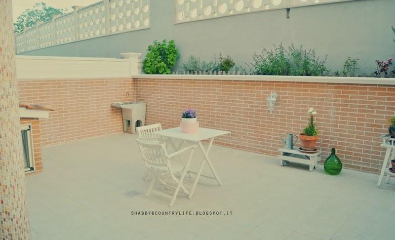 Creare un' accogliente zona giardino [ work in progress ] - Shabby&CountryLife.blogspot.it
