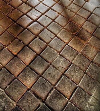 Weirdwood Wooden Floors Outdoors