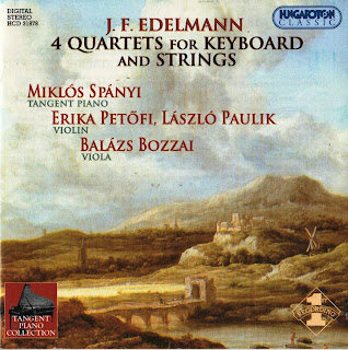 Jean-Frederic Edelmann – Edelmann: 4 Piano Quartets