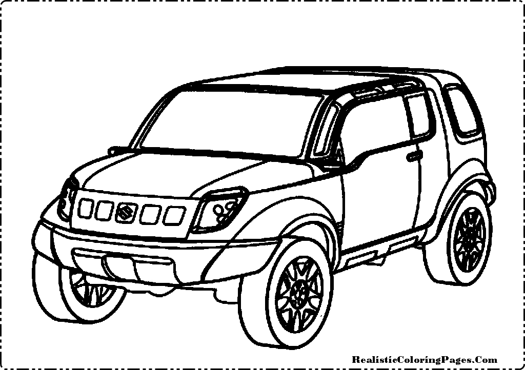 Car Wreck Coloring Pages : Car and truck accident coloring pages