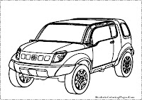 Suzuki Landbreeze coloring page