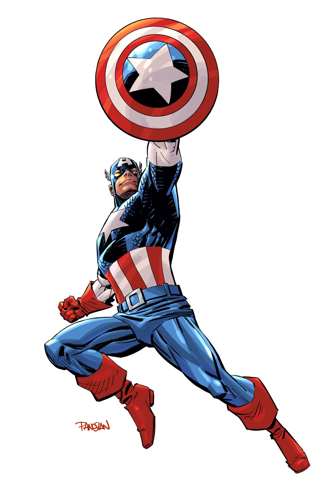 Kid super hero captain america for Captain america