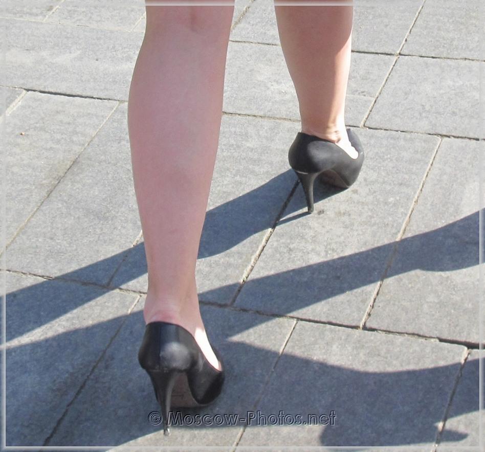 Black Classic High Heels Shoes