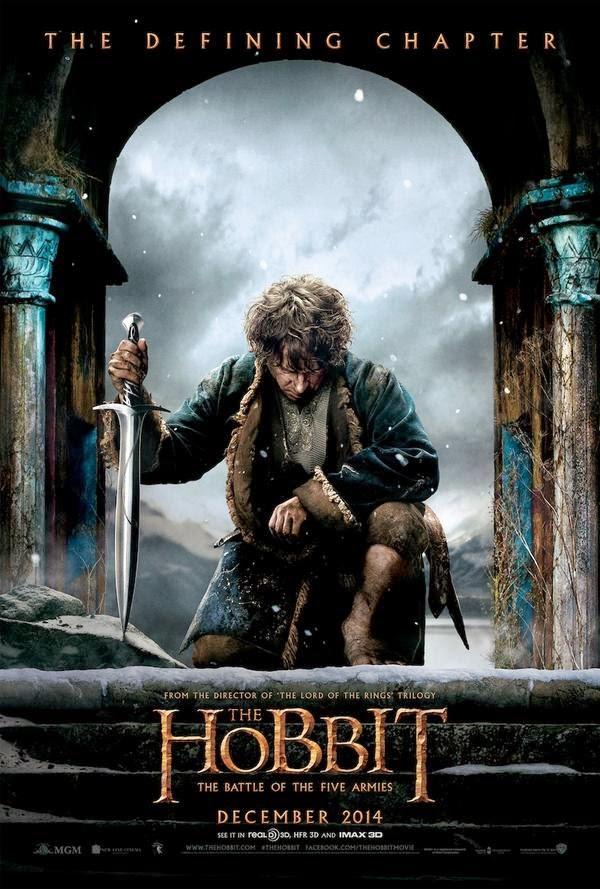 """Poster de """"El Hobbit: La Batalla de los cinco ejércítos"""""""