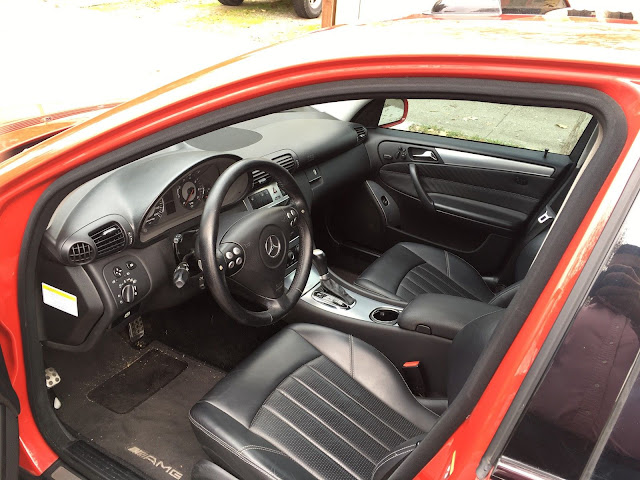 w203 c55 amg interior