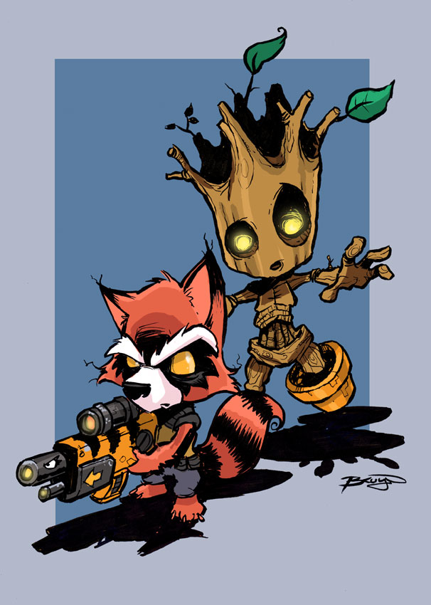 Rocket Raccoon amp Groot Steal the Galaxy! Prose Novel