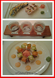 TL's Four Seasons Sushi and Sake Collage