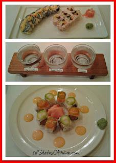 TL's Four Seasons Sushi and Sake Collage