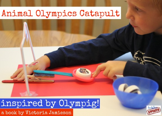 Competing in the Olympig! with Toddler Approved