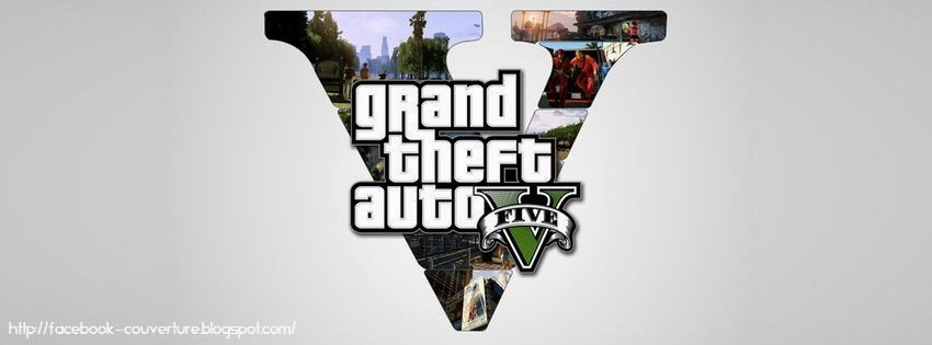 Couverture facebook grand theft auto 5