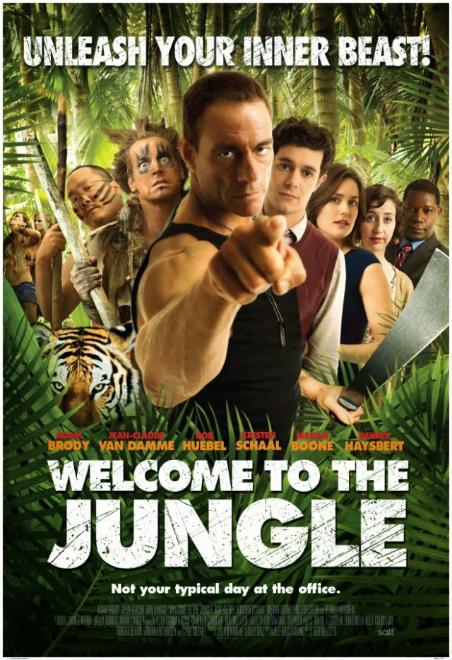 La película Welcome to the Jungle