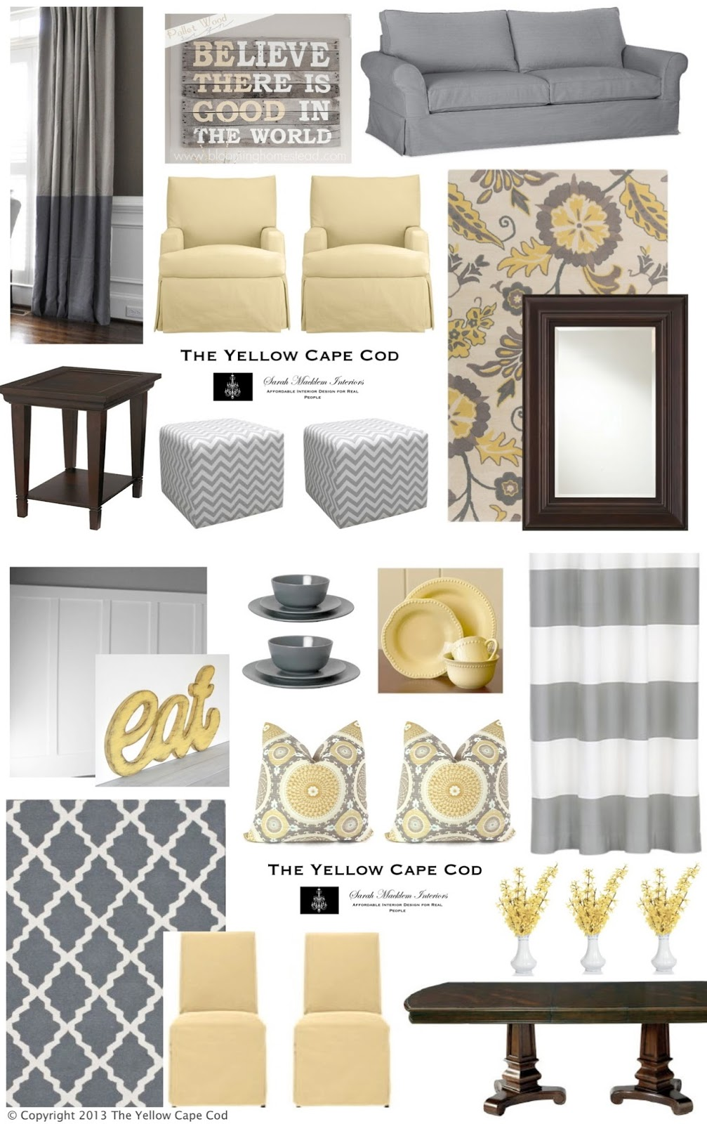 Along With These Inspiration Boards, We Provided Our Client With A  True To Scale Floorplan Of Each Room Illustrating The Furniture/accessory  Placement ... Part 79