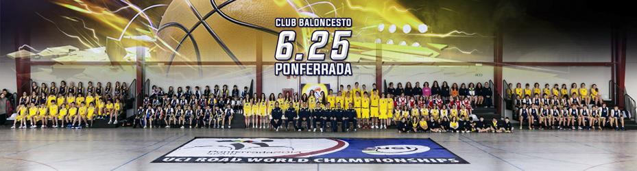 Bienvenido al blog oficial del Club Baloncesto 6.25