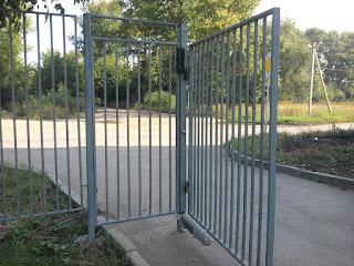 Забор металлический из профильной трубы. Фото 17