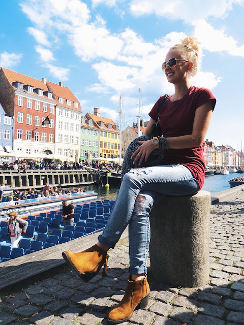 Onno Clothing hemp t-shirt, JORD wood watches, Emblem Eyewear aviator sunglasses, AMI Clubwear tassel booties, travel tips, Copenhagen travel tips