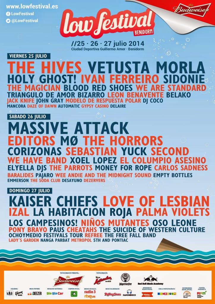 Low Festival #Benidorm anuncia su cartel por días y la salida a la venta de las entradas