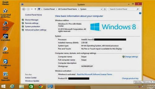 Microsoft Windows 8.1 Pro WMC With Office Pro Plus 2013 SP1 15.0.4701.1000