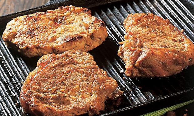Receita lombo de porco grelhado