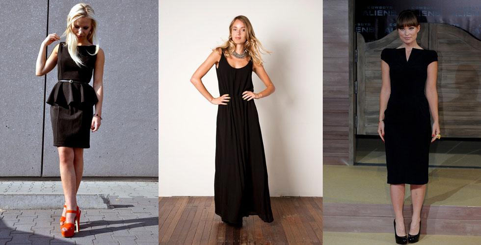 Acessorios para usar com vestido preto em casamento