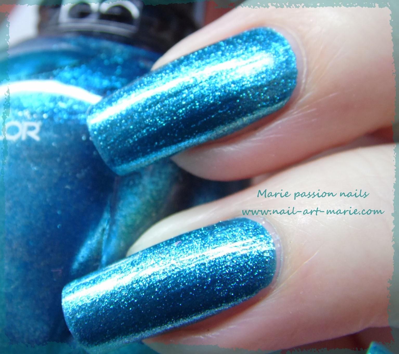 Kleancolor Metallic Aqua4