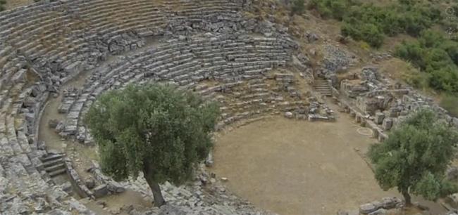 Kaunos antik kentine nasıl gidilir