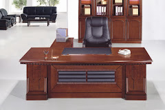 EXECUTIVE TABLE AND CHAIR