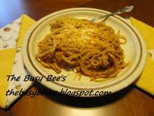 Tomato ~ Alfredo Spaghetti