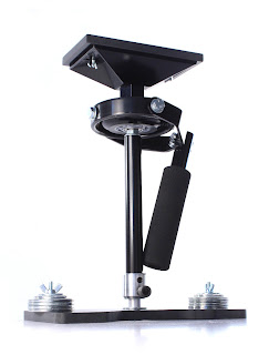 MiniDV Stabilizer Pro Camera Stabilizer shown with extendable main tube