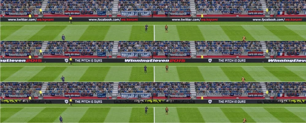 PES 2015 The Pitch Is Ours Adboard | Pes Patch