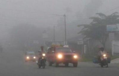 Kabut Asap Kembali Menebal, Sekolah di Palembang Diliburkan