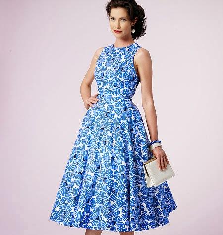 Фасоны платьев с расклешенной юбкой