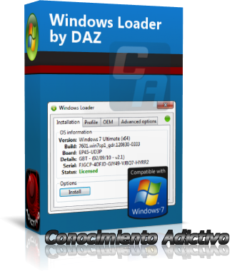 windows xp activator by daz