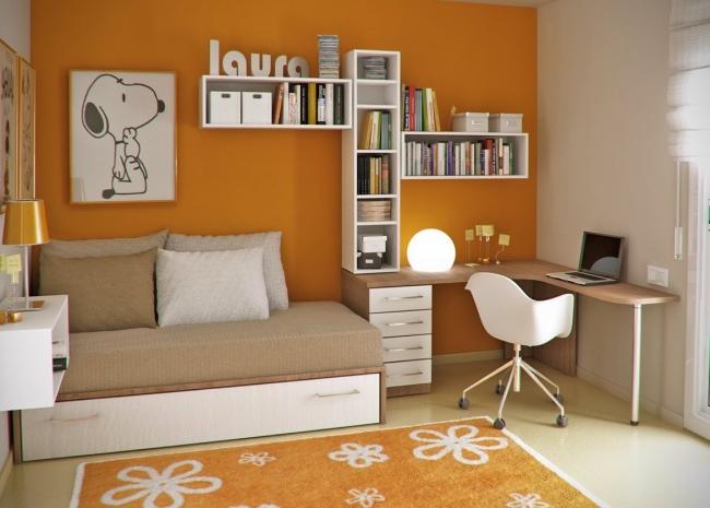 Dormitorios juveniles peque os dormitorios con estilo - Habitaciones pequenas ikea ...