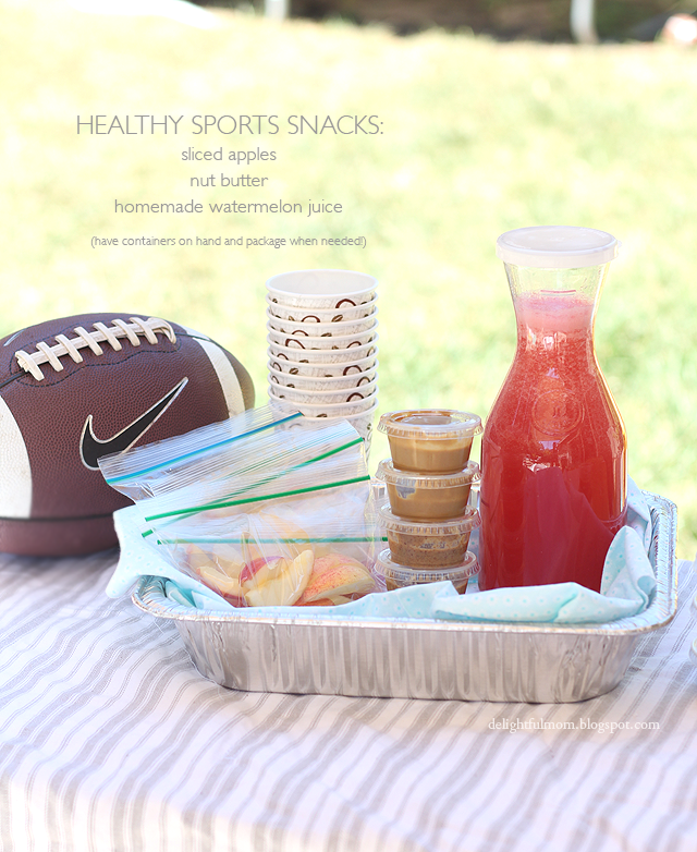Healthy Sports & After School Snack Ideas For Kids