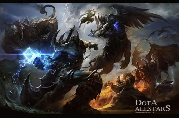 6.72 dota map download epic war