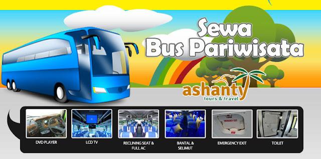 sewa bus pariwisata murah di surabaya
