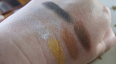Models Own Chrome Palette Swatches