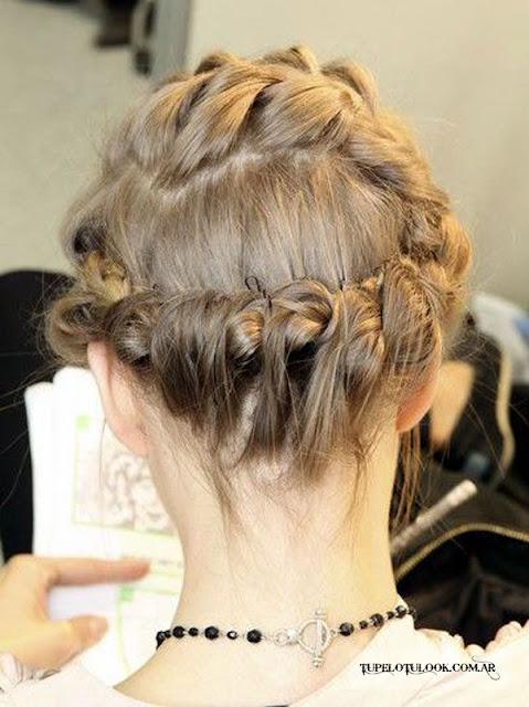 trenzas 2015 peinados recogidos