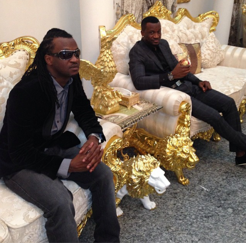 P Square Mother Burial Video P-Square Dines At The ...
