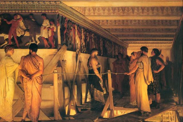 relief sculpture, Lawrence Alma Tadema,ancient Greece