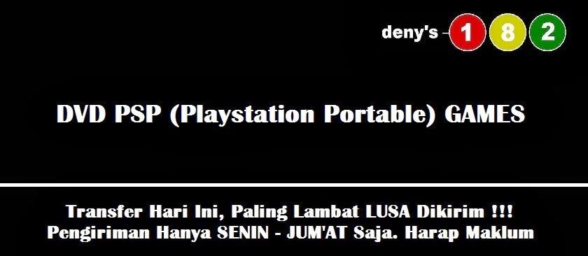 (Denys182) Jual Games PSP