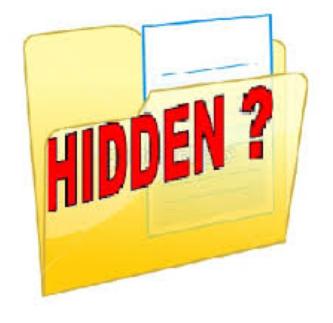 Cara Membuka File Yang di Hidden 2015