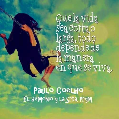 Frases Y Reflexiones De Paulho Coelo En Imagenes