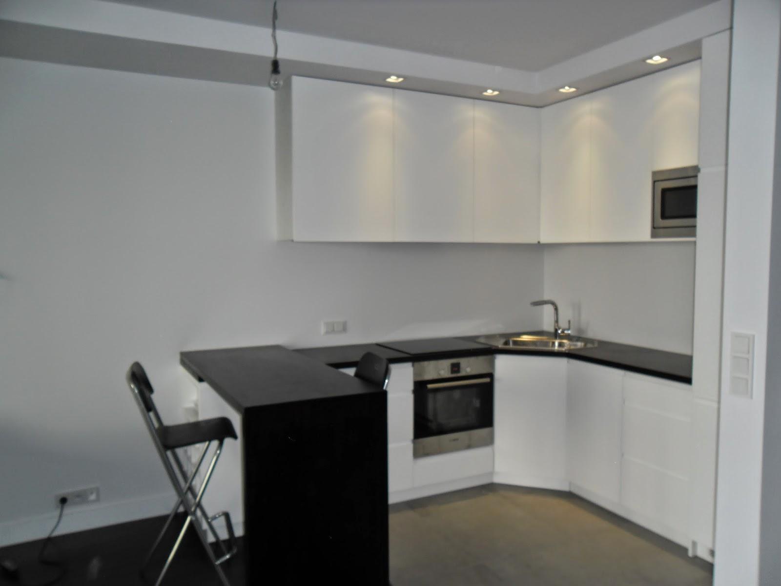 Kuchnia w bloku  biała, funkcjonalna i pojemna  Blog o projektowaniu mebli -> Funkcjonalna Mala Kuchnia W Bloku