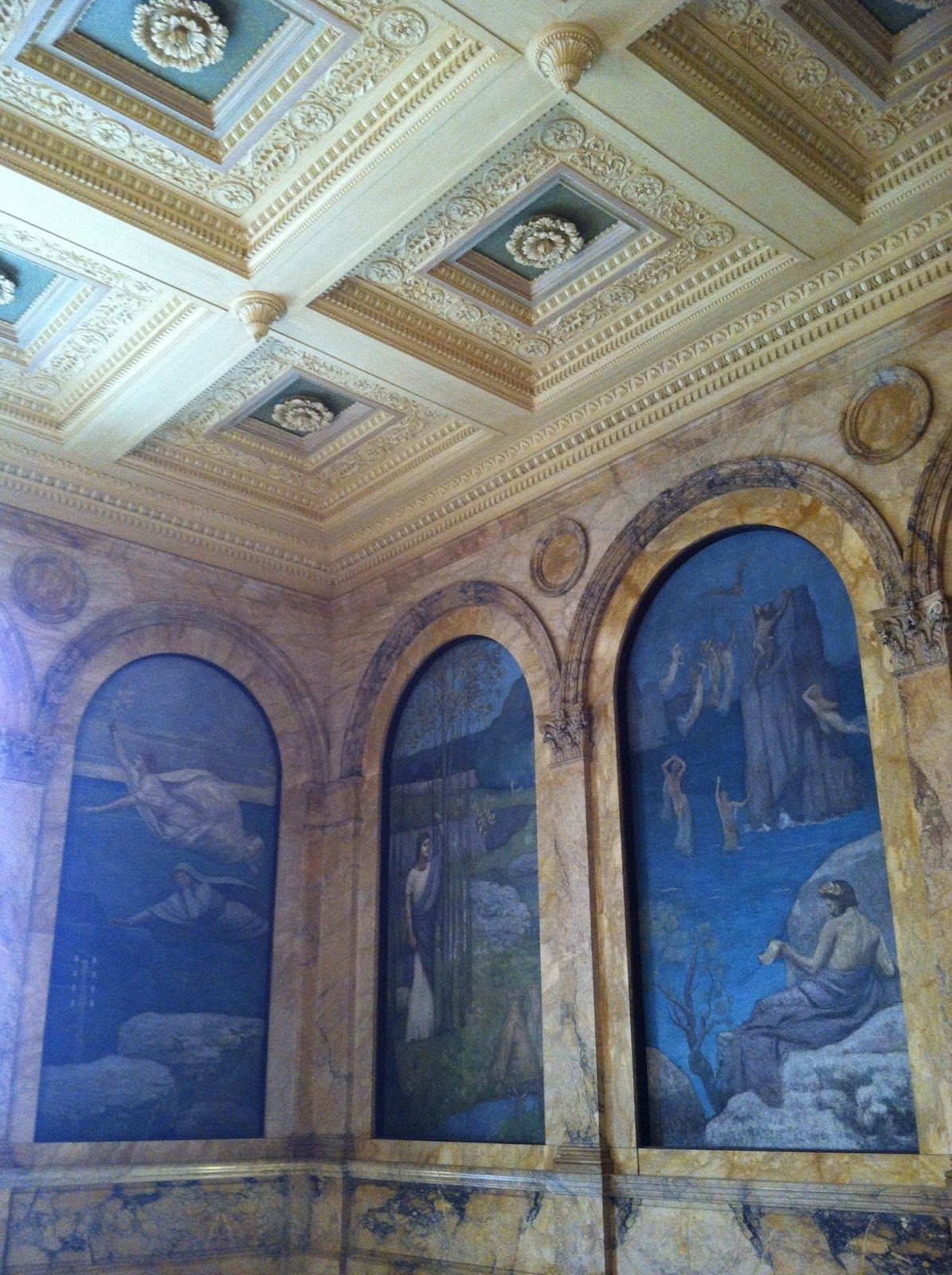 Boston Public Library murals