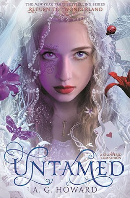 Cover of Untamed by A.G. Howard on Amber the Blonde Writer