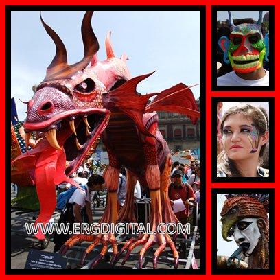 ERGDIGITAL.COM: Gran Desfile Multicolor de Alebrijes 2012,en México ...