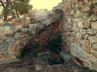 Detall del Castell Vell de Llinars