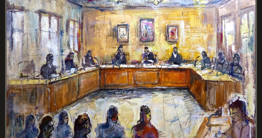 Ernest Descals.Artista Pintor: JUZGADOS-ARTE-PINTURA-JUECES-ABOGADOS ...